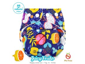 JUICY vyr 2914 milovia nappy cover s size Juicy Fruits