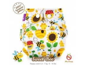 milovia nappy cover size small sweet bee