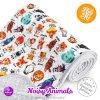 milovia dotness blanket 100x140 cm noisy animals 1