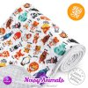 milovia dotness blanket 100x140 cm noisy animals 1