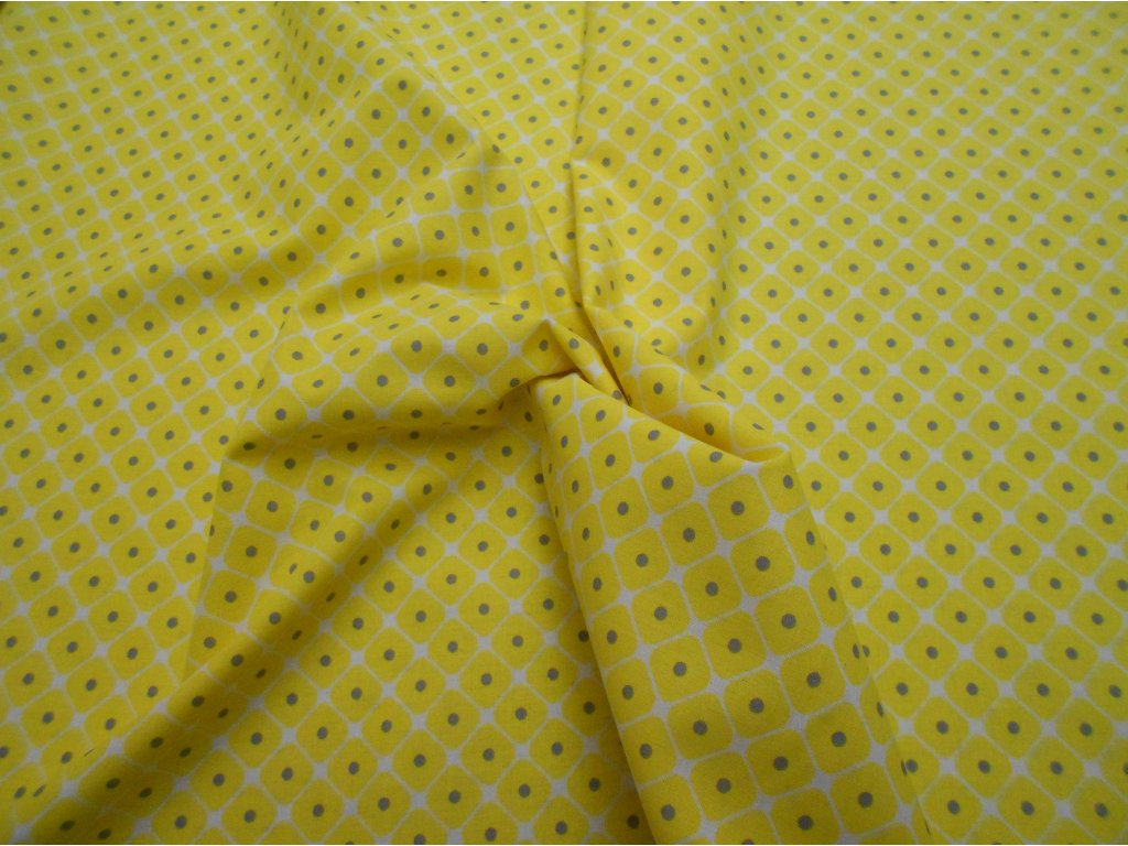 žluto-šedé kosočtverce