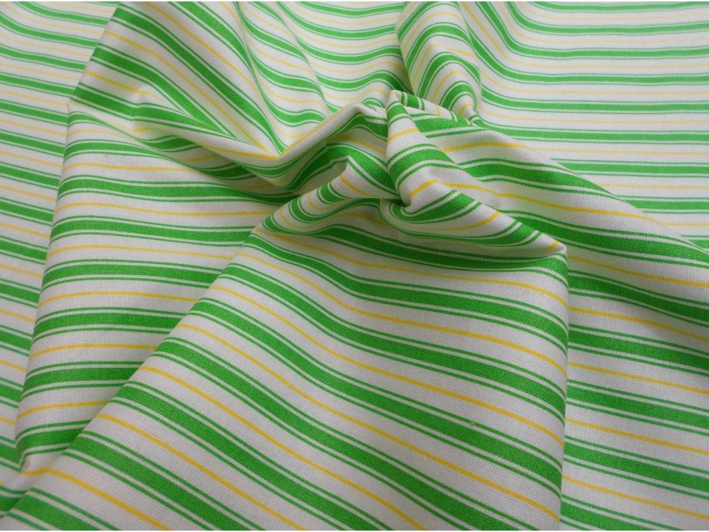 žluto-zelený proužek