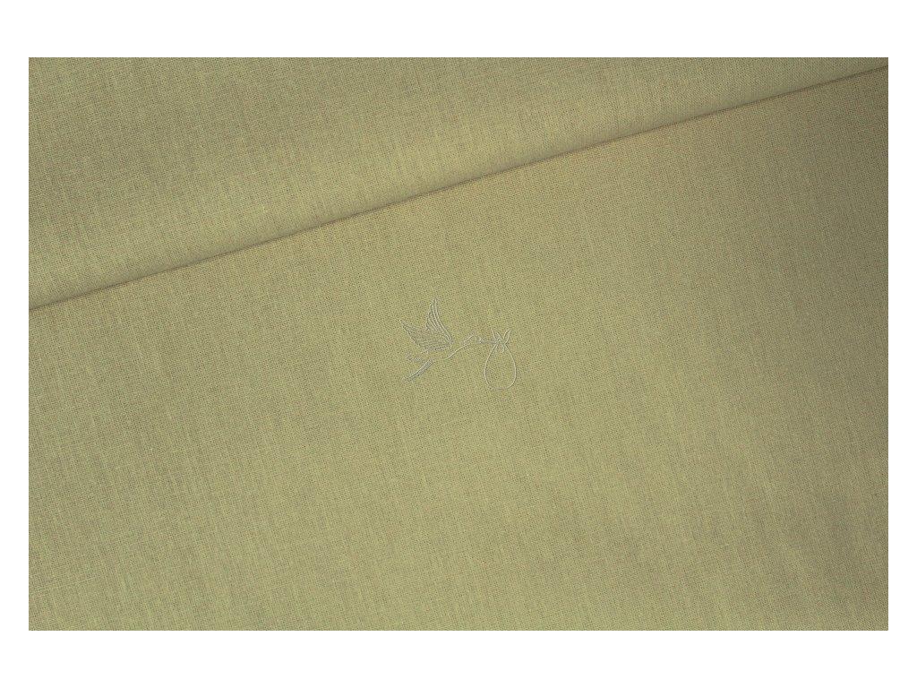 1302 3 bezova bavlnene platno sire 240cm