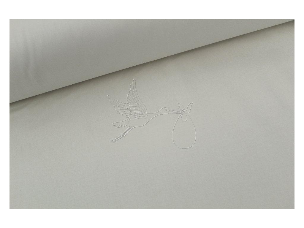 1479 1 vanilkova bavlnene platno sire 240cm