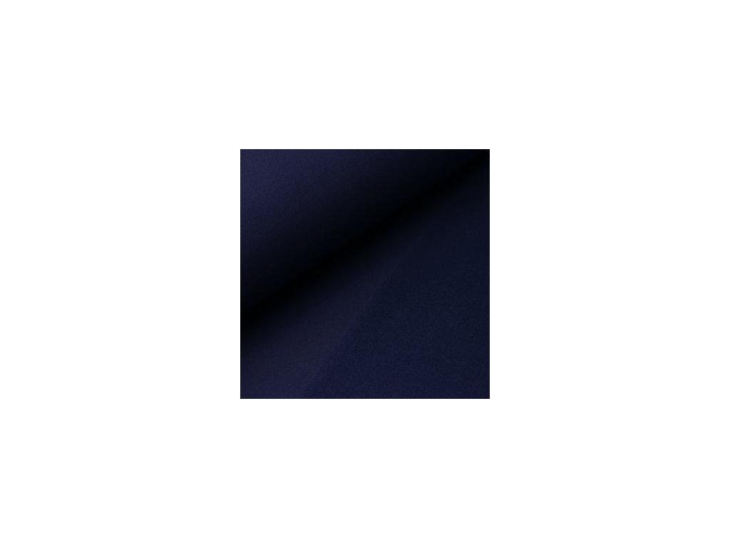 POČESANÁ teplákovina jednobarevná - tm. modrá 250g