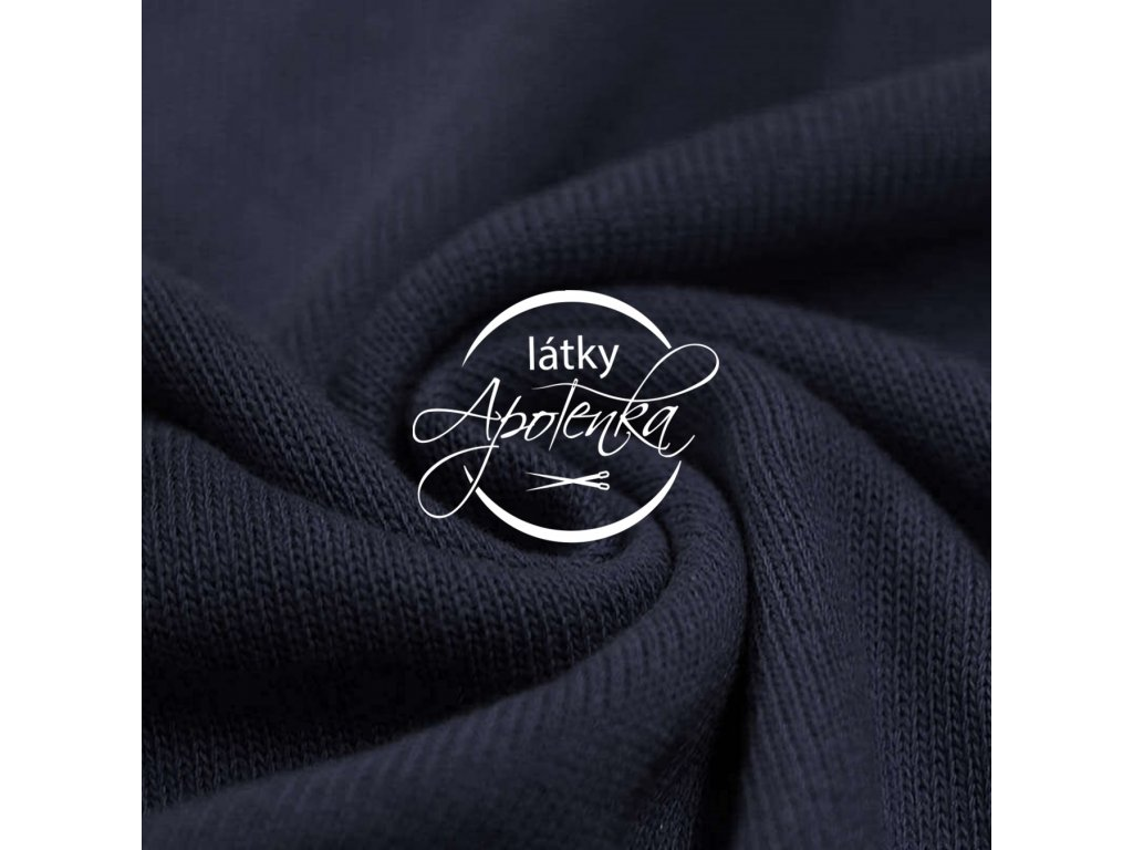 Baby knit fabric Navy 800x800 R188402