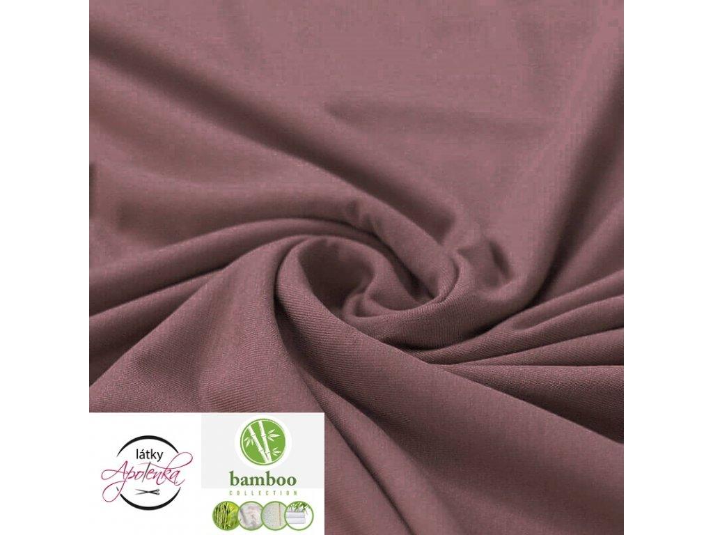 Bamboo Jersey Fabric Old Mauve 800x800