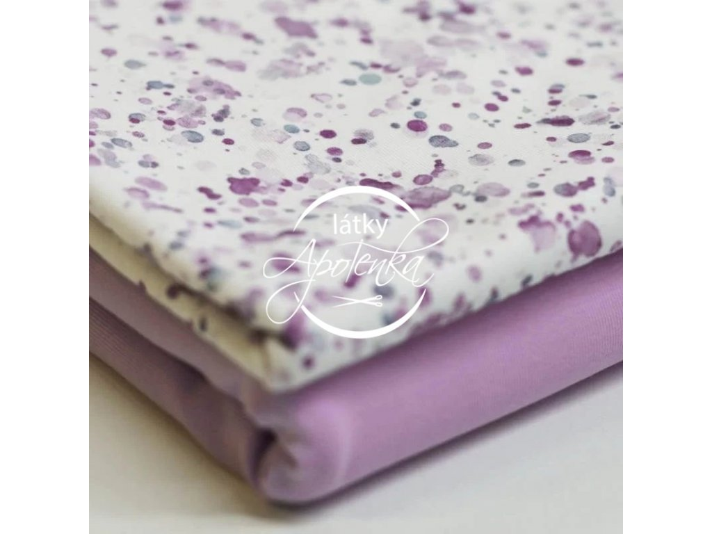 Jersey Fabrics Paint Stains Lilac 2 800x800