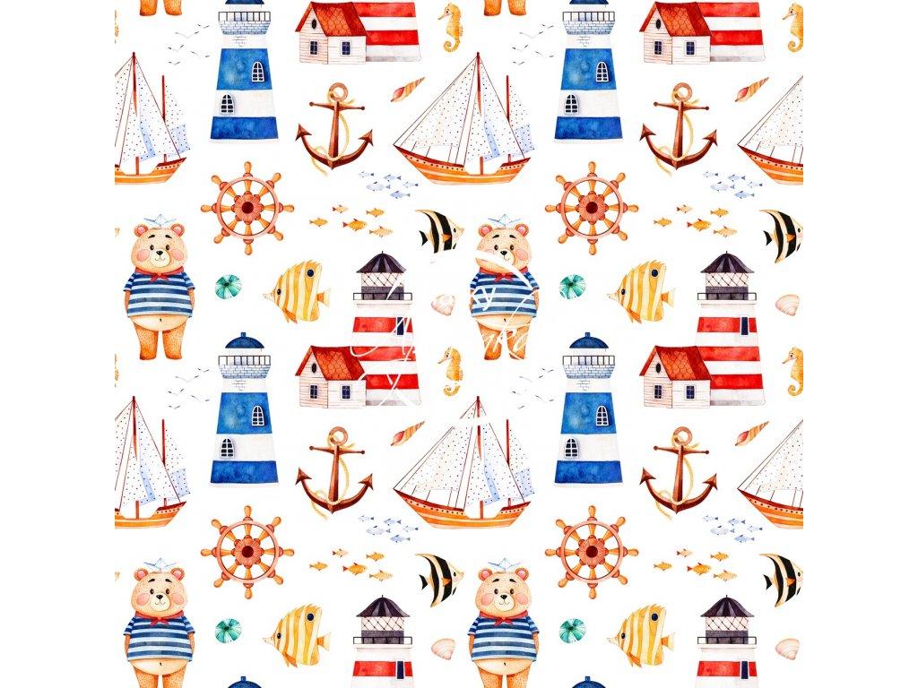 medvídek námořník