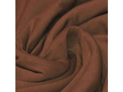 Cotton Jersey Fabric Light Brown 800x800