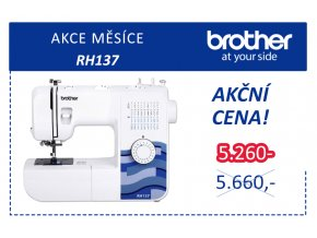 sici stroj brother rh 137