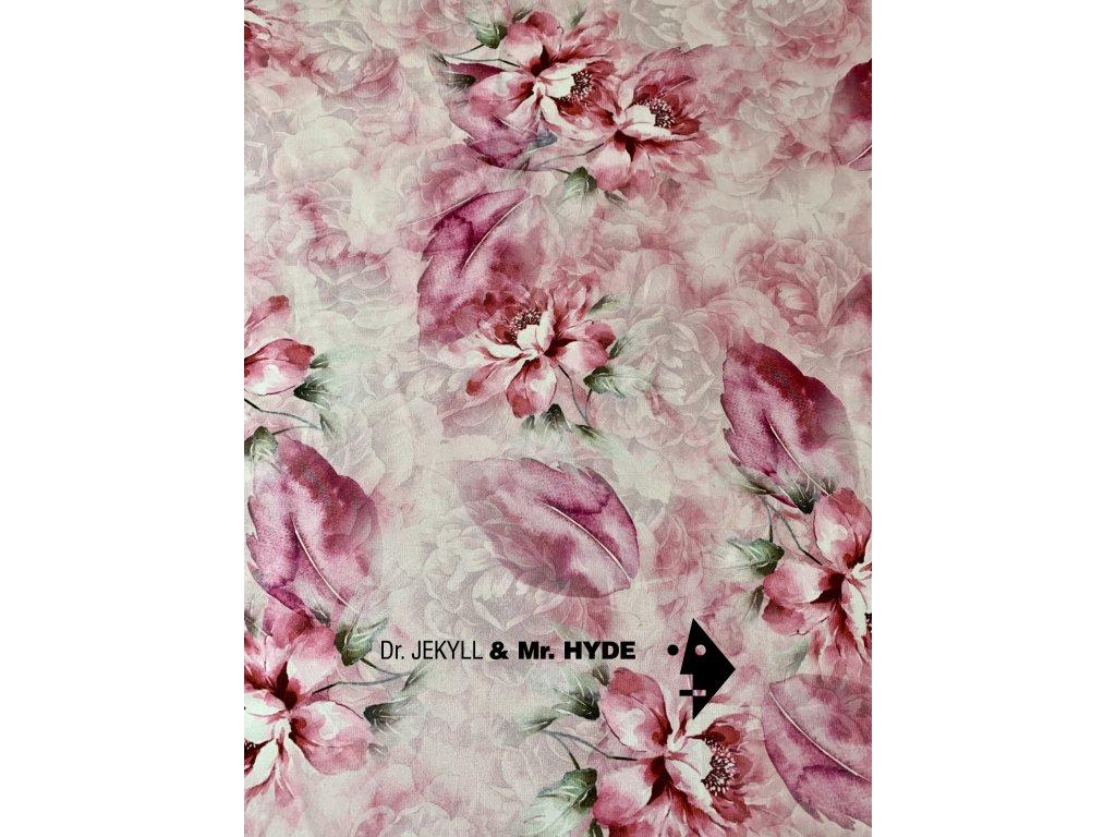Flower růžová