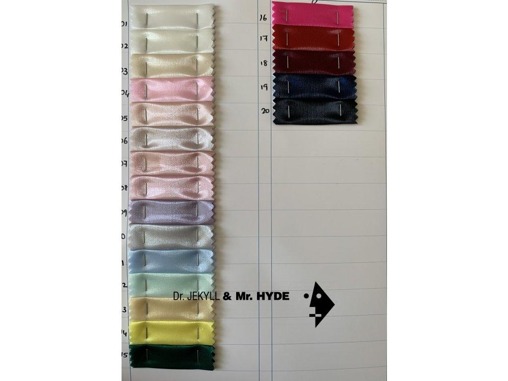 Organza glass - 20 barev