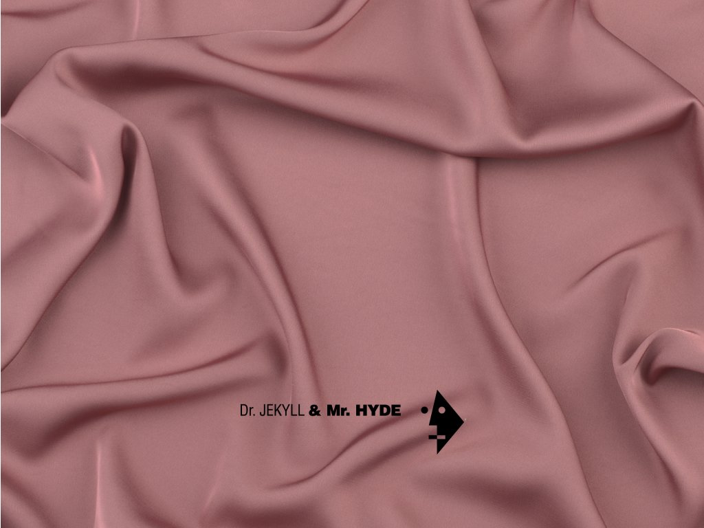 88. Tmavě růžová zaprášená / Dark dusty pink