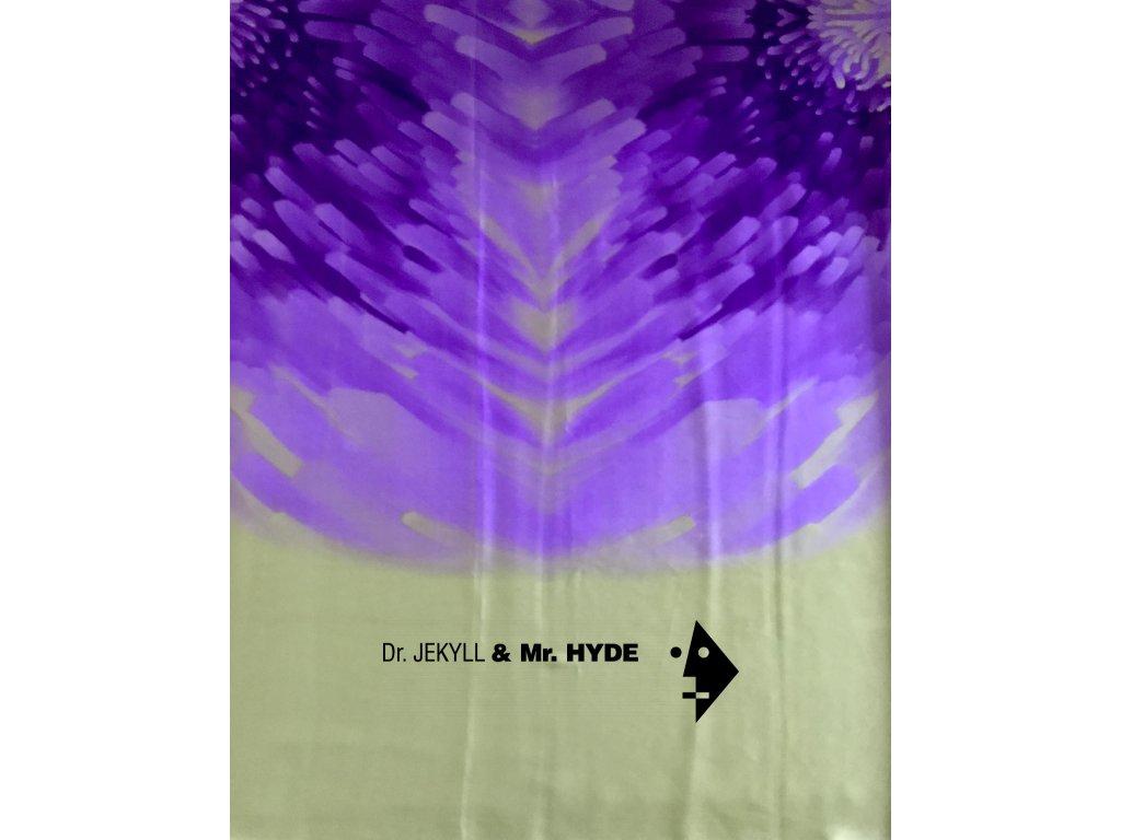 Mandala fialovozlatá