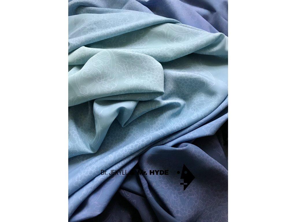 Duhová modrá