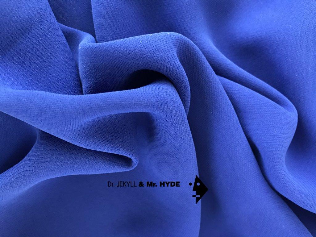 20. Královská modrá / Royal blue crepe