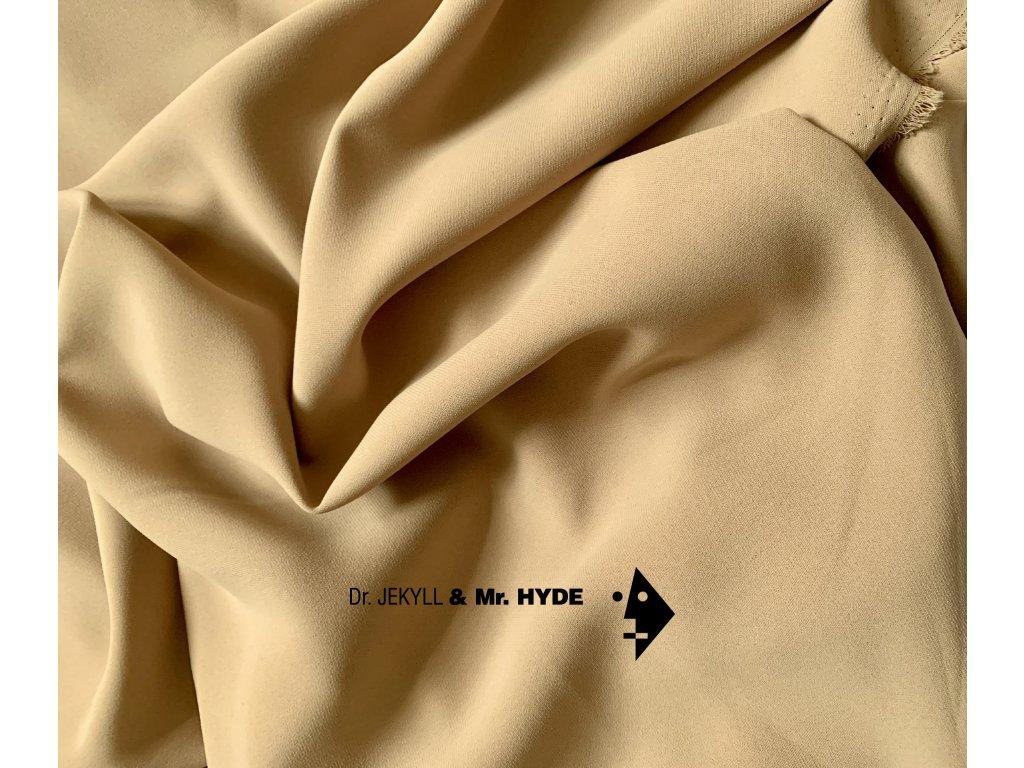05. Velbloudí hnědá / Camel brown crepe