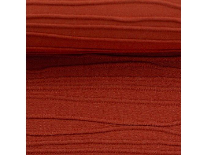 Plastický úplet - Peru červená