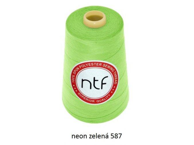 neon zelená 587