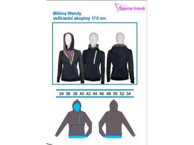 mikina wendy