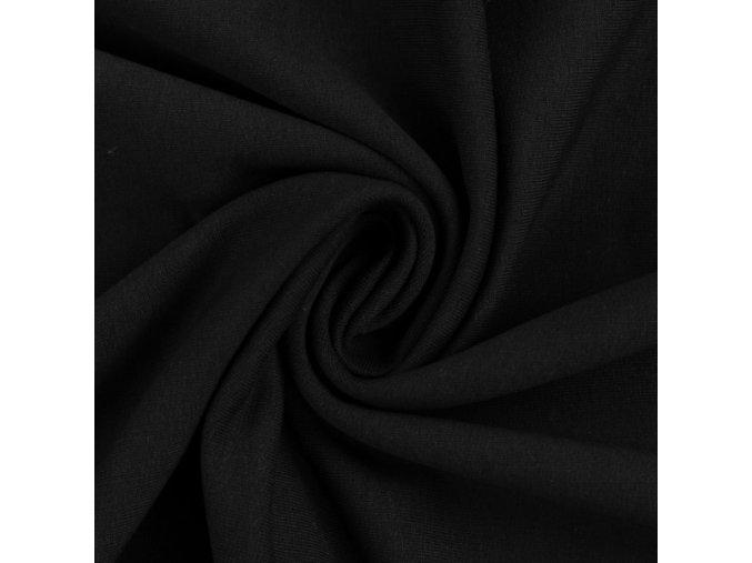 teplákovina černá