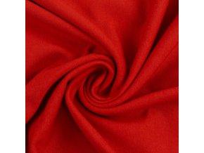 červená teplákovina 636