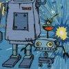 Panel úplet - Roboti Happy Metal