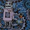 Úplet - Roboti Happy Metal