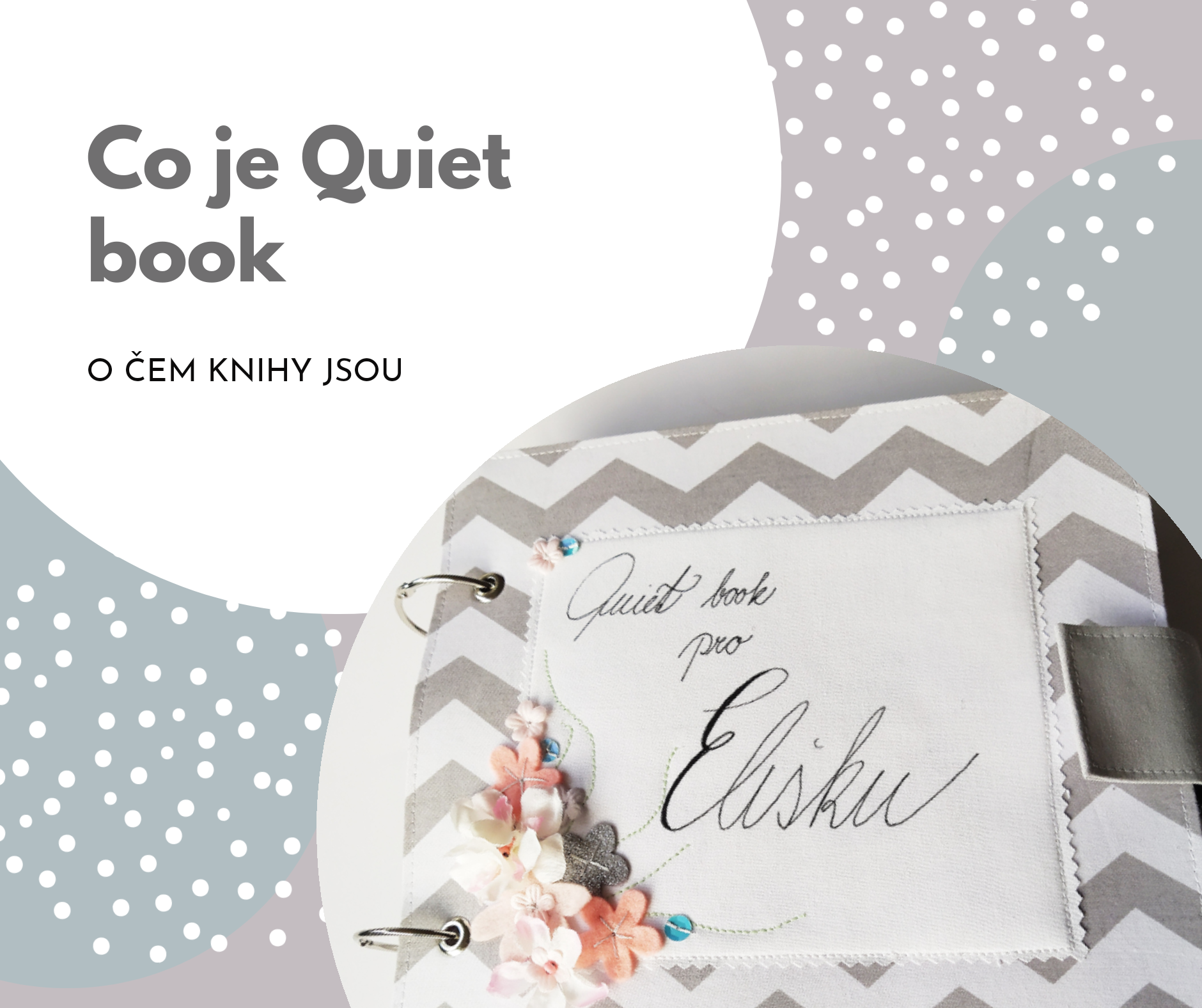 Co je Quiet book - tichá kniha