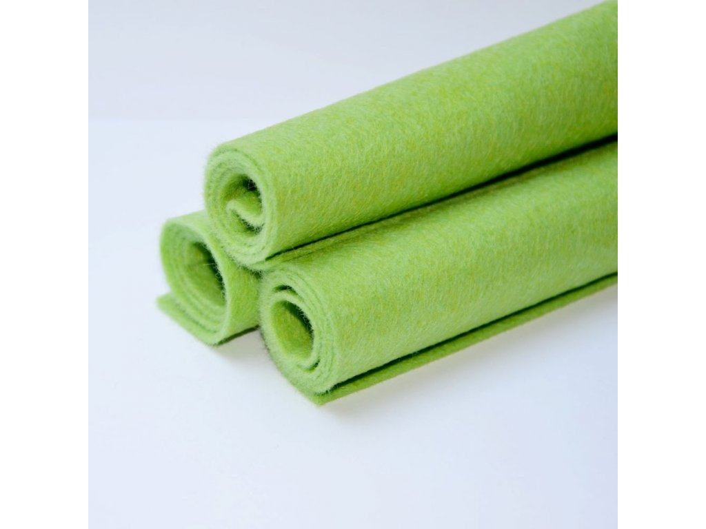 1104 smesova plst jarni zelena