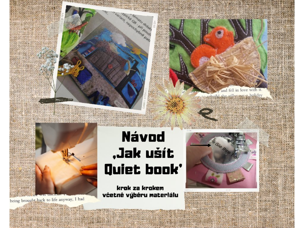 Jak ušít Quiet book - PDF