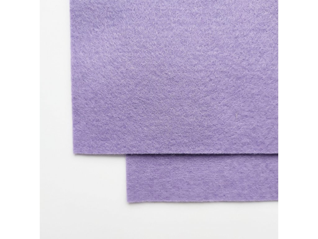 327 100 vlnena plst svetle fialova atest