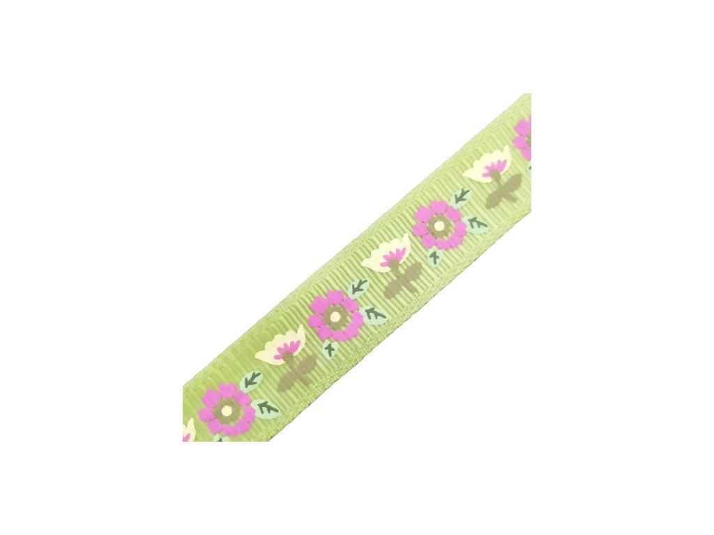 stuha flower green