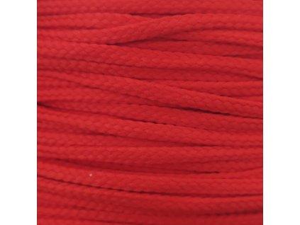 1107 snurka polyesterova 4mm ruzne barvy