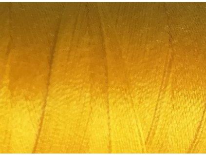 1932 polyesterova sici nit unipoly 120 navin 500m 00126 zluta