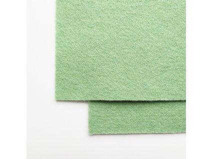 2217 100 vlnena plst pastelova zelena atest