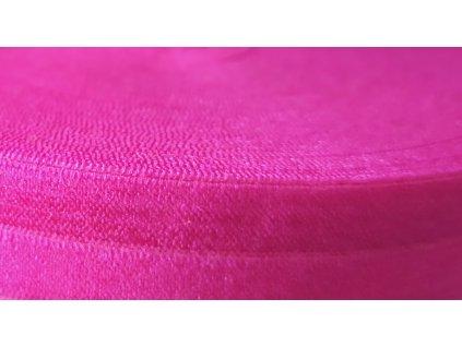 3291 lemovaci pruzenka 19mm ruzne barvy 00437 malinove ruzova