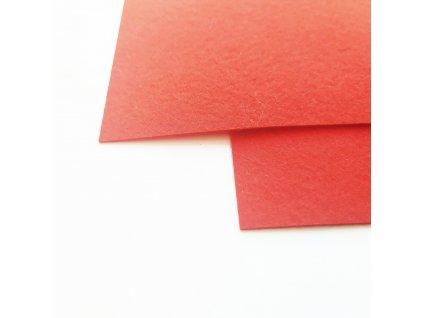 4056 100 polyesterova plst cervena