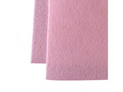 100% polyesterova plst ruzova