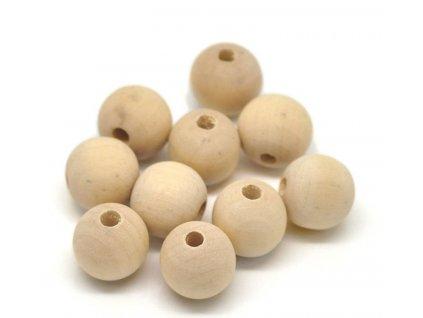 Dřevěný korálek -různé velikosti