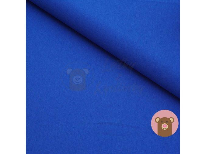 teplákovina modrá