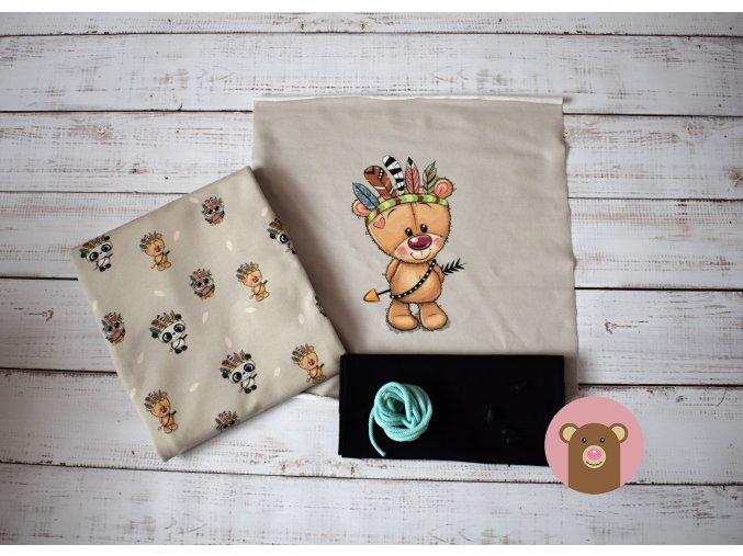Balíček Medvídek s černým nápletem