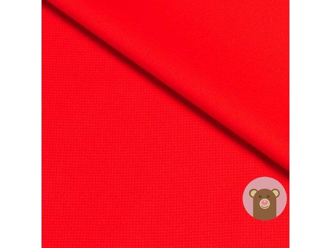 softshell letní pružný červený