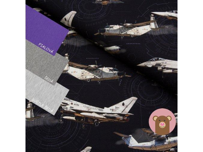 teplákovina Letadla