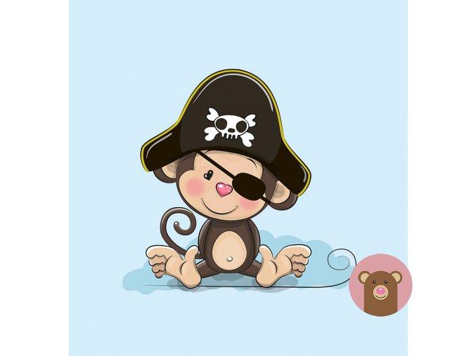 4676 1 panel opice pirat
