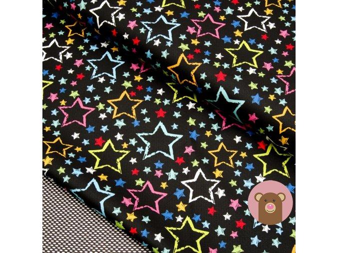 4799 1 softshell jarni podzimni barevne hvezdy