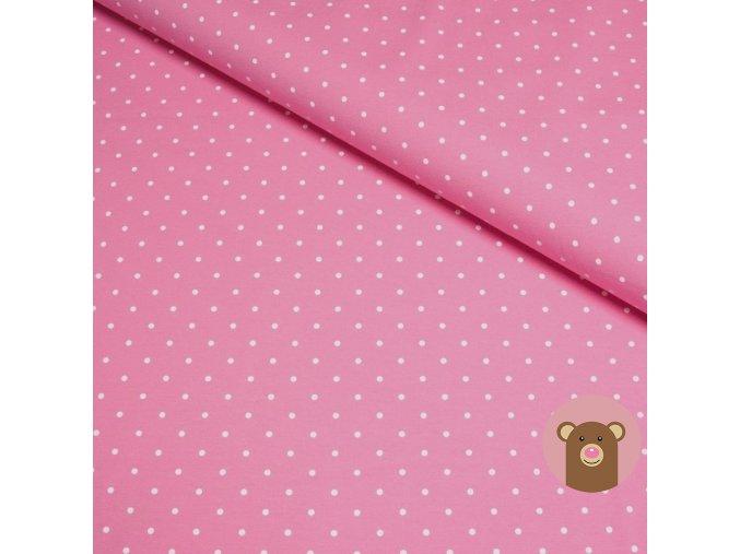 teplákovina Puntík na růžové