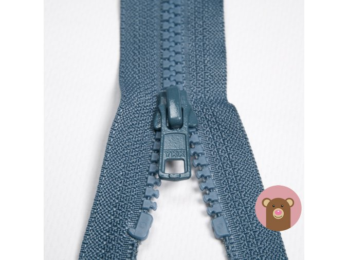 YKK Zip VISLON® - dělitelný - modrošedá