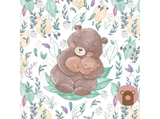 ft panel mother an baby bears